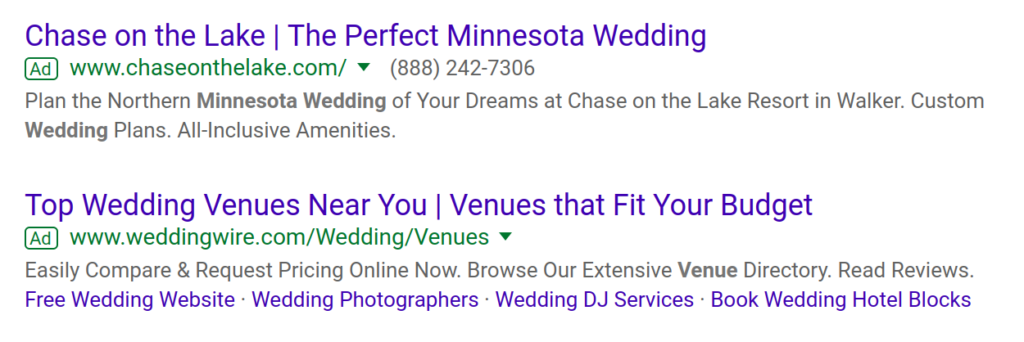 The Ultimate Guide To Wedding Venue Advertising [UPDATE 2021] 4