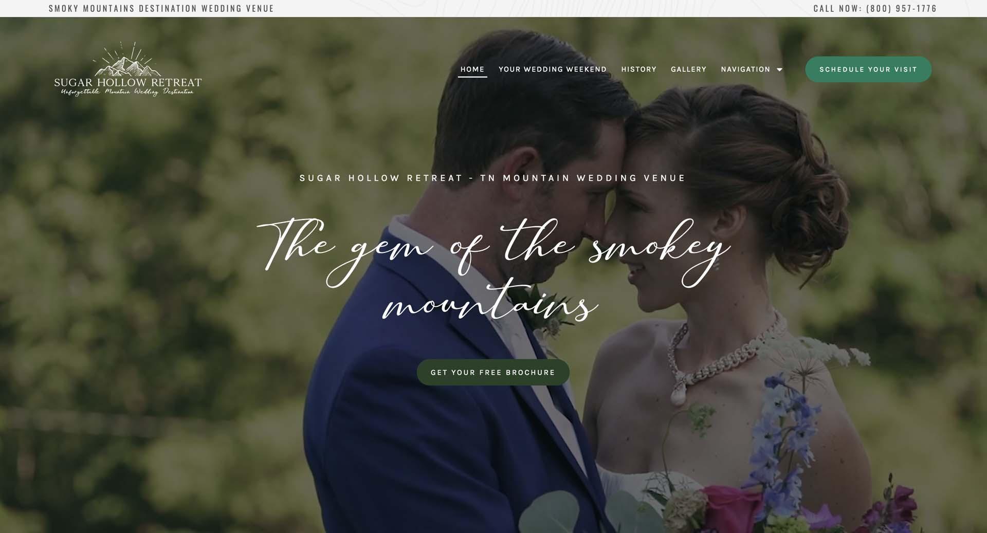 Wedding Web Design 3