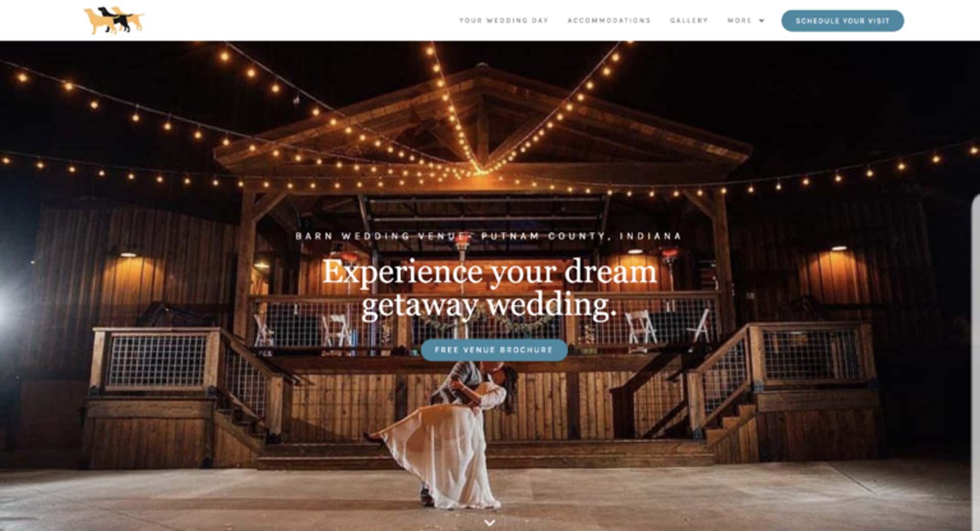 Wedding Web Design 6