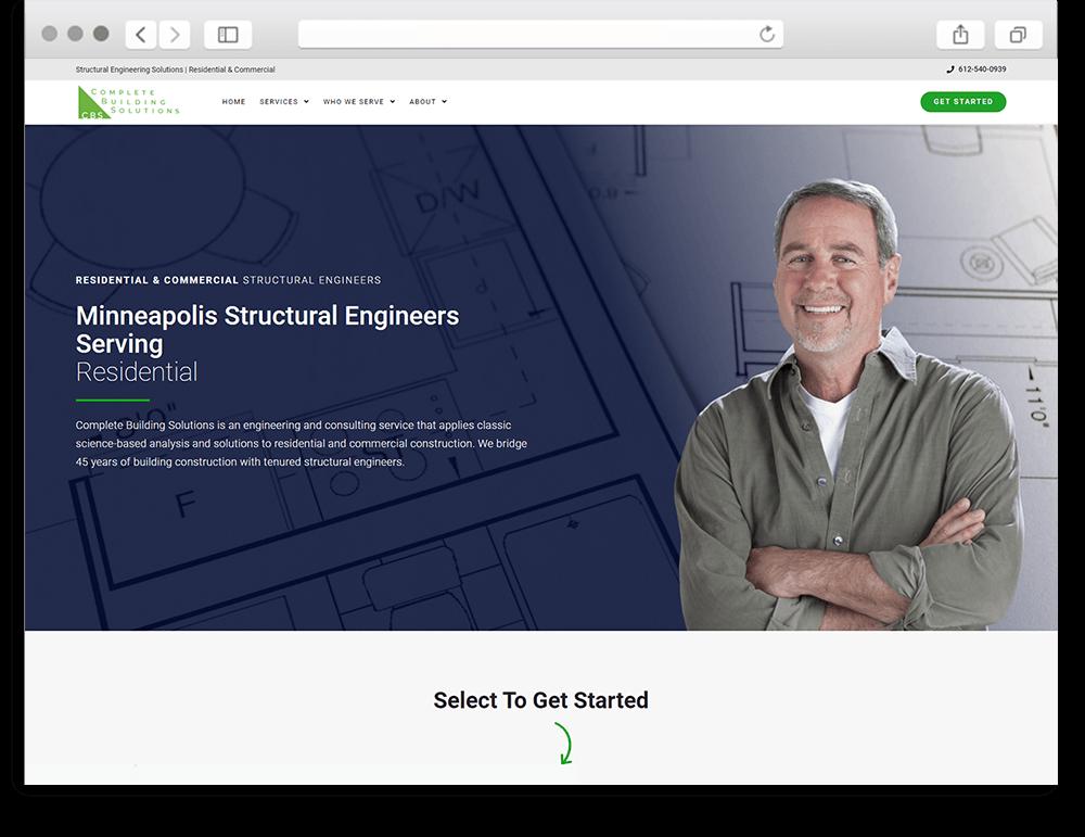 Contractor Web Design 1