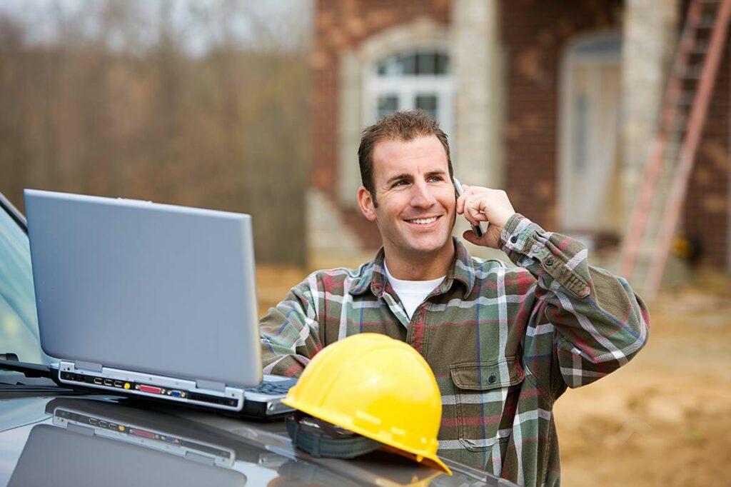 Contractor Web Design 2