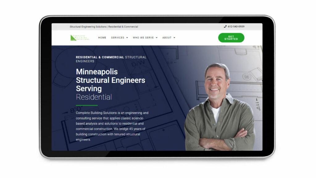 Contractor Web Design 4