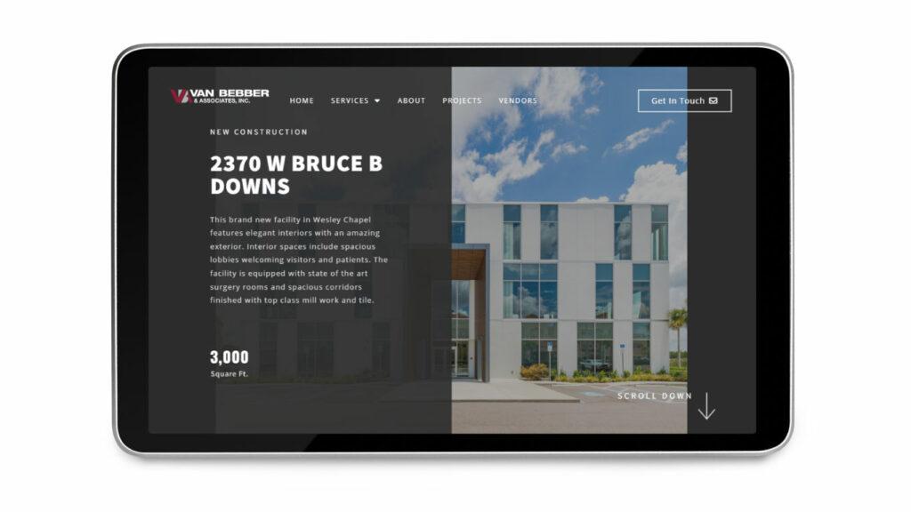 Contractor Web Design 5